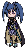Commission for NovaHeroi, Levina Pixel Art by UngluedPlayer