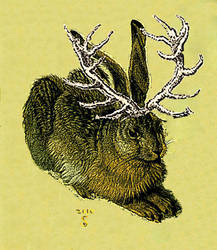 Jackalope if A.D. had made it by sanneb