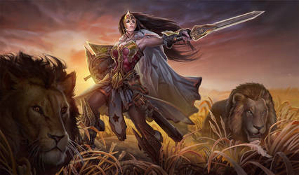 Wonder Woman 2014 comicon challenge by Rayph
