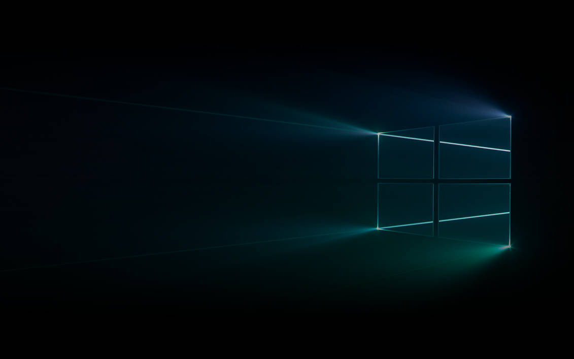Windows 10 Original Wallpaper: Dark Harmony (Windows 10) Wallpaper By MinderiaYoutuber On