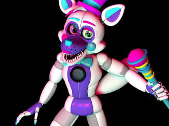 are you ready for some funtime! [fnaf\c4d\oc] by xXAdAmRoSeXx