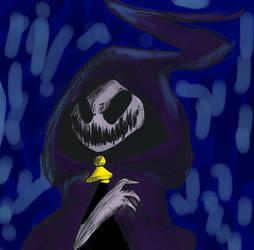 happy halloween! [ghosty head] by xXAdAmRoSeXx
