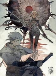 [PFFK]Chapter III:Bloody Sun by kaizbow
