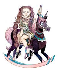 Circus girl by kaizbow