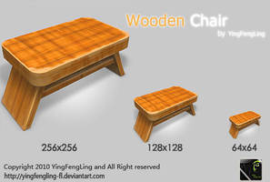 Icons-Wooden Chair by yingfengling-FL