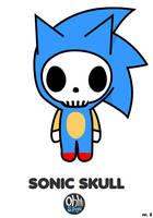 OHS: Sonic Skull by Yo-Bonewire-Boy