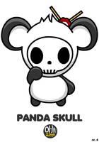 OSH: Panda Skull by Yo-Bonewire-Boy