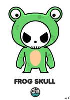 OHS: Frog Skull by Yo-Bonewire-Boy