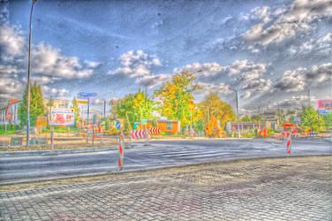Road work by flegmatyk