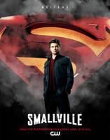 Smallville: Finale poster by kittycreed007
