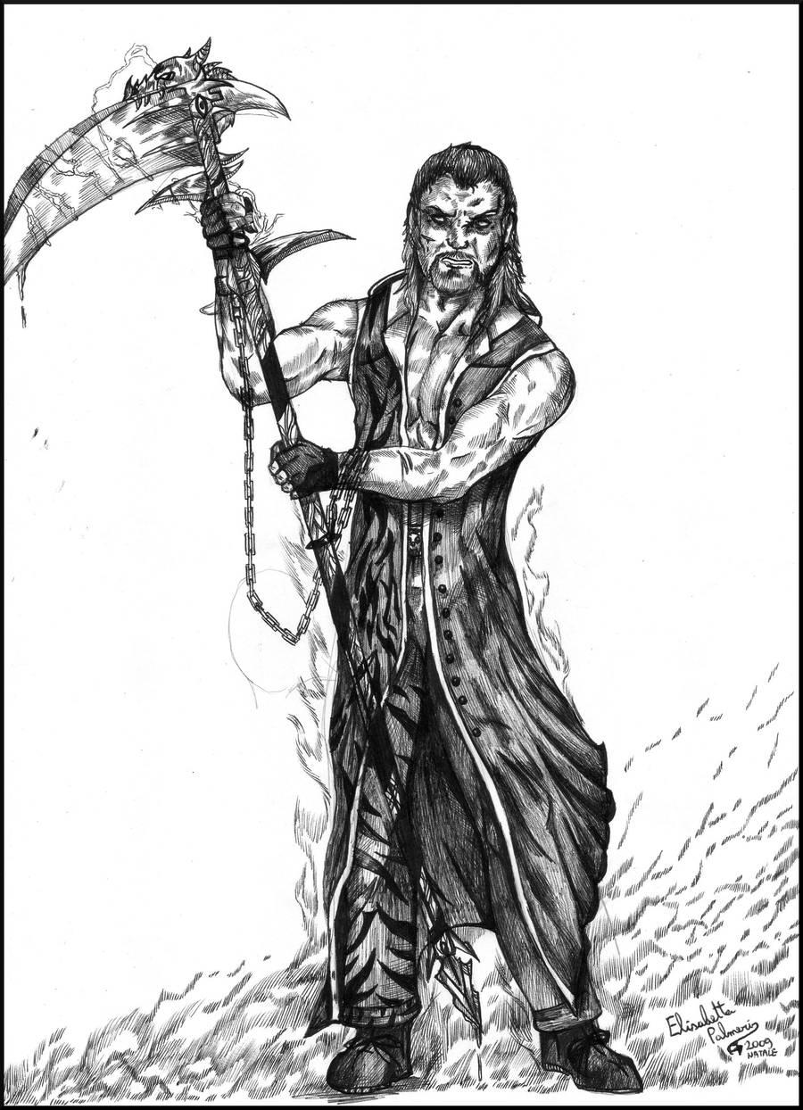 The black shinigami by FuriarossaAndMimma