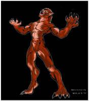 Werewolf transformation- color by FuriarossaAndMimma
