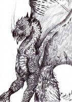 The Dragon by FuriarossaAndMimma