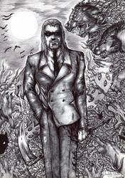 Dark Minister by FuriarossaAndMimma