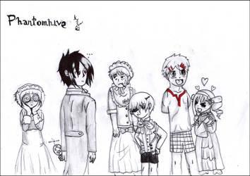 Phantomhive family by FuriarossaAndMimma