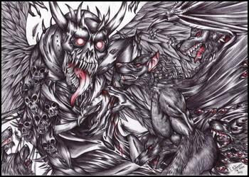 Week 14-Black, blood and bones by FuriarossaAndMimma