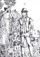 The Great Fox 1 by FuriarossaAndMimma