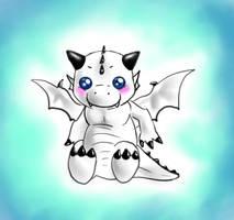Little White Dragon by FuriarossaAndMimma