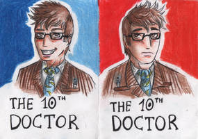 The 10th Doctor by FuriarossaAndMimma