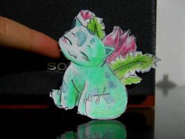 Paperchild 40. Pokemon 2 - Ivysaur by FuriarossaAndMimma