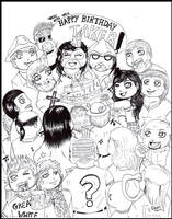 Undertaker's birthday 2013 by FuriarossaAndMimma