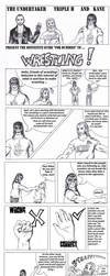 Taker, HHH, Kane - Silly guide to wrestling by FuriarossaAndMimma