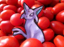 Paperchild 308.Pokemon#196 - Espeon by FuriarossaAndMimma