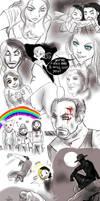 WWE stupid sketches 1 by FuriarossaAndMimma