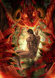 Hannibal - The Great Red Dragon by FuriarossaAndMimma
