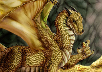 Golden Dragon by FuriarossaAndMimma