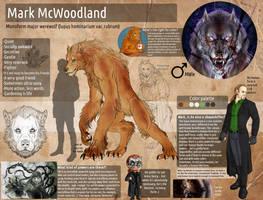Mark McWoodland - ref by FuriarossaAndMimma
