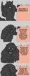 WerewolfAndCannibal - A good wolf with a plan by FuriarossaAndMimma