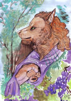 Watercolor McWoodland by FuriarossaAndMimma