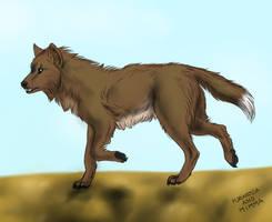 Commission - Joe Wolf by FuriarossaAndMimma