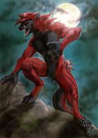 Commission - Zikeny Werewolf by FuriarossaAndMimma