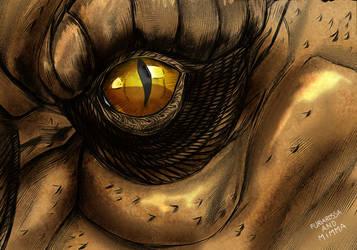 Terraskus eye by FuriarossaAndMimma
