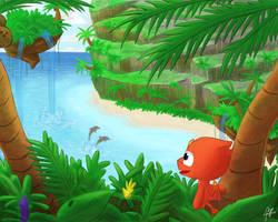 Tropical Paradise by MarkPajo