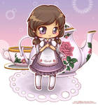 Tea Time by angelnablackrobe