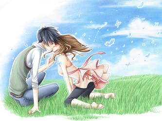 When I'm Kissn' U by angelnablackrobe
