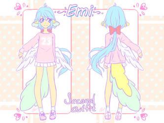 Emi Second Outfit by angelnablackrobe