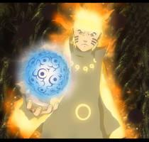 Naruto 674: Jinton Rasengan by IIYametaII