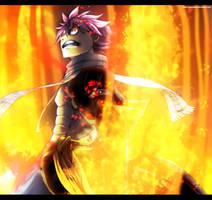 Fairy Tail 524: Angry Natsu by IIYametaII