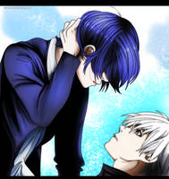 Tokyo Ghoul RE Chapter 124: Finally a Kiss by IIYametaII