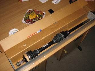 Right driveshaft by SonyAD