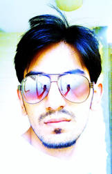 Self Portrait by IftikharNaseem