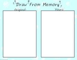 Draw From Memory Meme by FuliciousTM