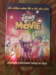 My Little Pony Movie finally on dvd by demonstardust