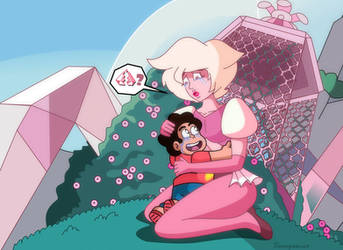 Pink Diamond's Rebirth by demonstardust