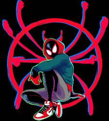 Spider-Man: Miles Morales by SparkAdam