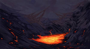 Dhurenro Lava Flows by RegalChaos